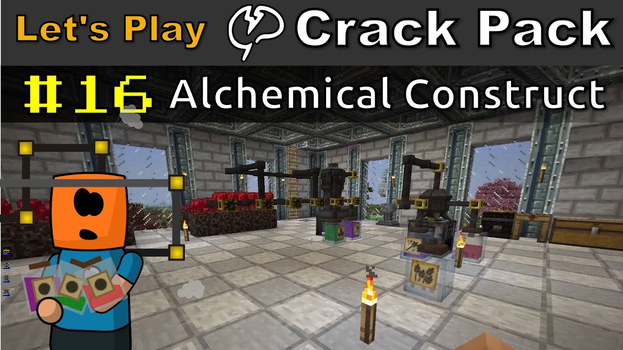 Minecraft - CrackPack #16 | Alchemical Construct