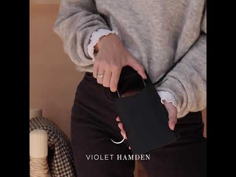 Violet Hamden The Essential Bag blå telefonpose