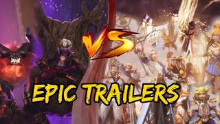 ALL EMPIRE REBORN AND LIGHTBORN EPIC TRAILERS | MOBILE LEGENDS