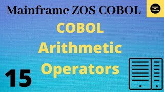 Cobol tutorial on arithematical operations - Practical Tutorial