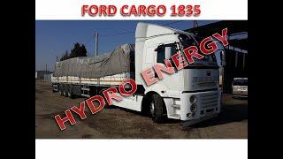 Ford cargo 1835 hidrojen yakıt tasarruf cihaz montajı