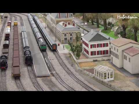 Modélisme: réseau HO du Train Miniature Gaillacois  - vidéo 271 HD