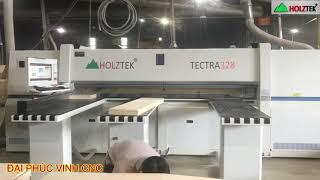 MÁY CẮT VÁN THÔNG MINH TECTRA-328 Holztek. Máy Cưa Panel Saw cnc