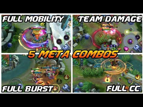 Defeat the  meta with these amazing hero combos | Mobile Legends (видео)
