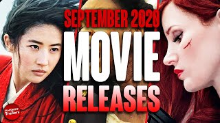 MOVIE RELEASES YOU CAN'T MISS SEPTEMBER 2020