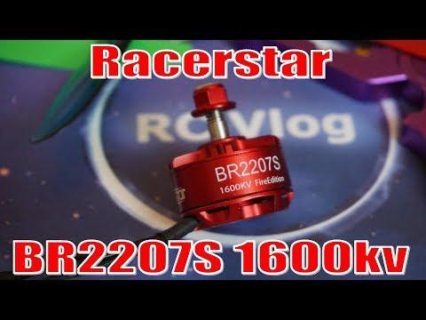 Racerstar BR2207S 1600kv. Thrust test.
