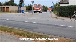 preview picture of video 'Alarm Feuerwehr Lengede - F2 Flächenbrand - 2 Perspektiven [FullHD]'