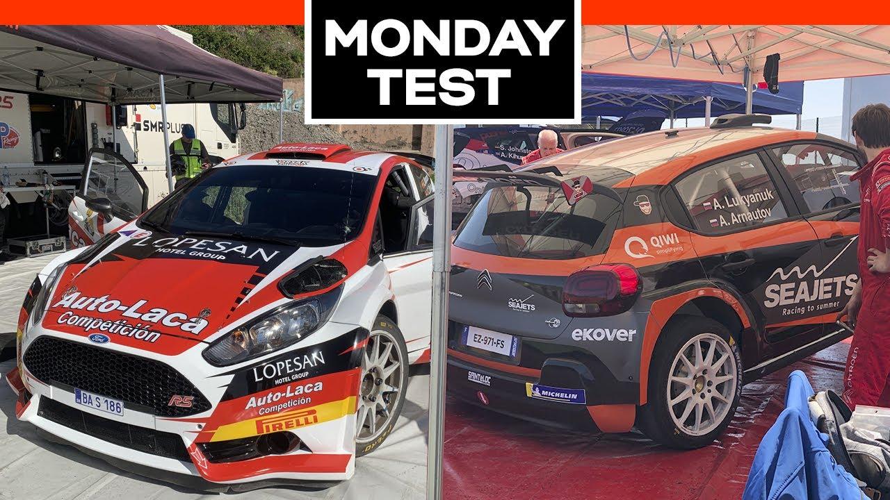 MONDAY TEST |43º Rally Islas Canarias