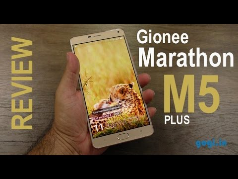 Gionee Marathon M5 Plus Review - big screen, big battery, big price