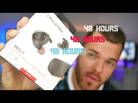 Kickstarter Headphones Giveaway! Phiaton Bolt BT700 Review