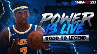 LATE NIGHT | BEST CENTER ON NBA 2K20 - 99 OVERALL - ROAD TO LEGEND - BEST BUILD & JUMPSHOT! NBA 2K20