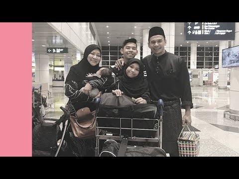 Meleleh air mata tengok Norman & Abby sambut anak balik Malaysia