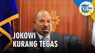 Sebut Pernyataan Jokowi Kurang Tegas, Gubernur Papua: Kami akan Tarik Semua Mahasiswa Papua