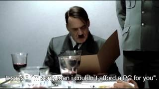 Hitler is informed Himmler did not buy a PC for him