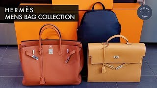 Hermès Mens Bag Collection 2018: Birkin 40, Cityback 27 And Kelly Depeche 38