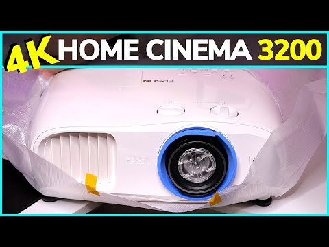 Epson Home Cinema 3200 4K PRO-UHD 3-Chip Projector Unboxing!