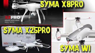 Хиты компании Syma. Радиоуправляемый вертолет, квадрокоптер SYMA X25PRO, SYMA X8PRO, SYMA W1.