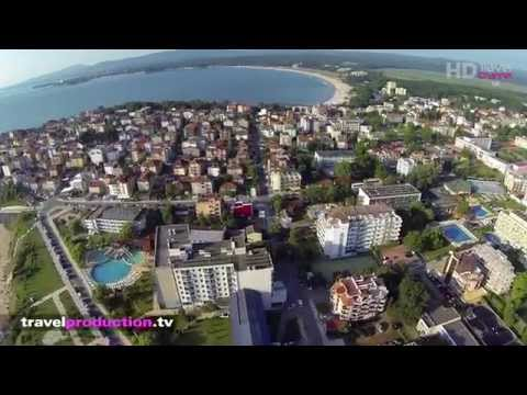 Primorsko, Bulgaria - (Flight video) Tra