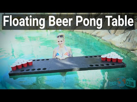 Floating Beer Pong Table - Featured Youtube Video