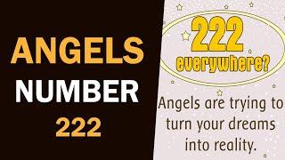 Angel Number 222  // Satya Narayan Reiki Grand Master