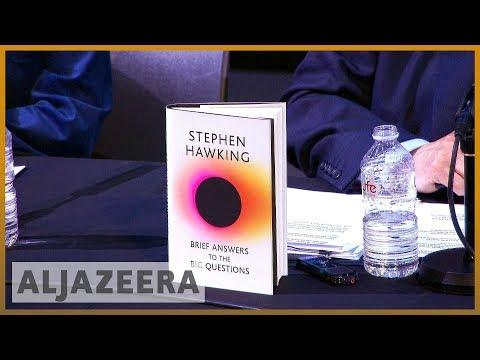 📕 Stephen Hawking's final book entreats readers: 'Shape the future' | Al Jazeera English