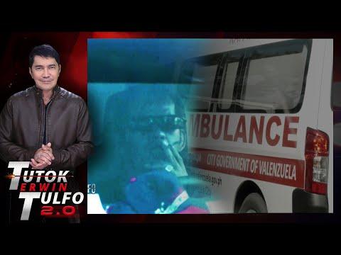 [Erwin Tulfo]  DRAYBER NG AMBULANSYA HULING-HULI NANINIGARILYO HABANG MINAMANEHO ANG AMBULANSYA