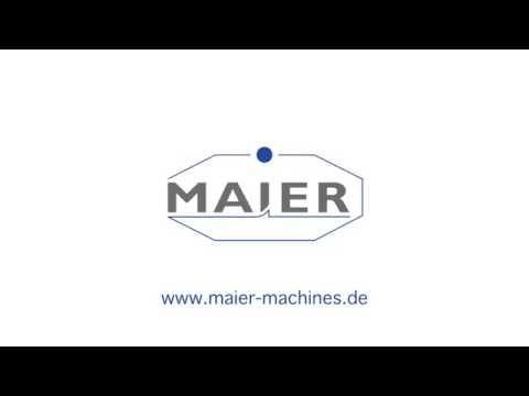 MAIER Werkzeugmaschinen Image Film