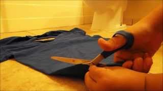 How To Cut Up A Shirt Hipster Style
