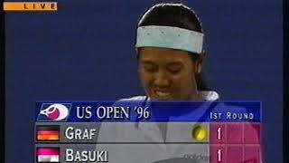 Steffi Graf Vs Yayuk Basuki US OPEN 1996