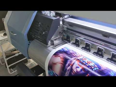 Epson DX5 eco plotter solvente / prueba de impresión de impresora de pancartas de vinilo