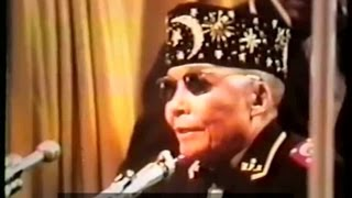 L\'Honorable Elijah Muhammad, Saviour\'s Day 1974(Extrait)