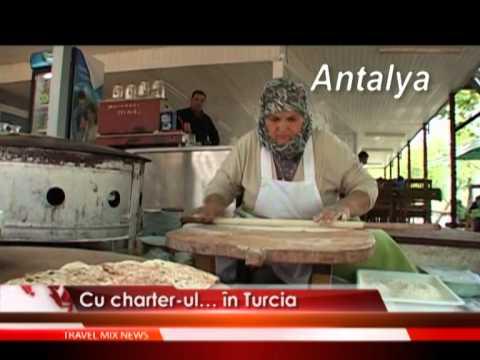 Cu charter-ul…in Turcia