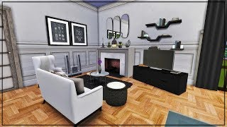 MODERN HIPSTER ROOM | #RentalNewTenant | The Sims 4 CC