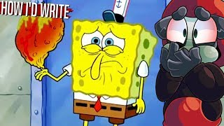 Top 10 Infamous Spongebob Episodes Rewritten! (Part 1) | The Alpha Jay Show [27]