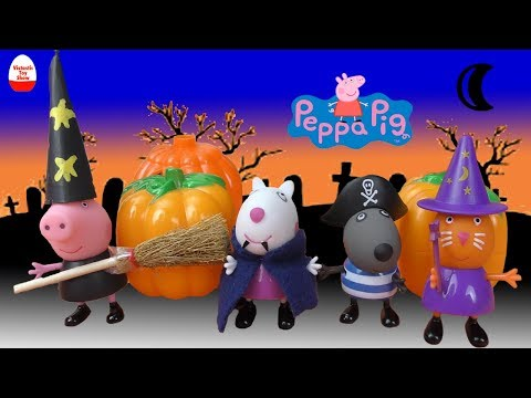 Peppa Pig English Episodes | Trick or Treat? | Happy Halloween #PeppaPig 🎃🍬👻