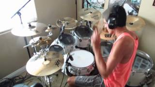 Two Birds Stoned At Once by Chiodos: Drum Cover by Joeym71