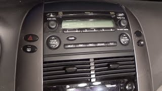 "DIY: 2004-2010 Toyota Sienna Stereo removal & installation of Tomtop 7"" touchscreen BT stereo"