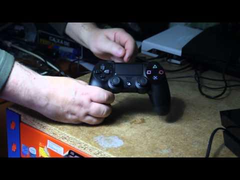 O comando da PS4