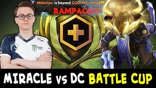 Miracle meets team DC on Battle Cup — 1 hour whole series
