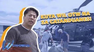 Wowowin: Willie Revillame, mainit na sinalubong sa Virac, Catanduanes!
