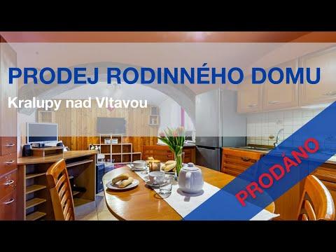 Video z << Prodej rodinného domu, 76 m2, Kralupy nad Vltavou >>