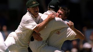 From the Vault: Glenn McGrath's Test hat trick