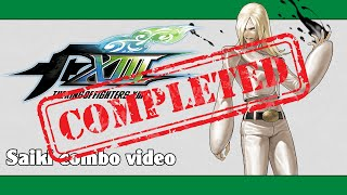 KoF XIII: Saiki combo video (FINAL VERSION)