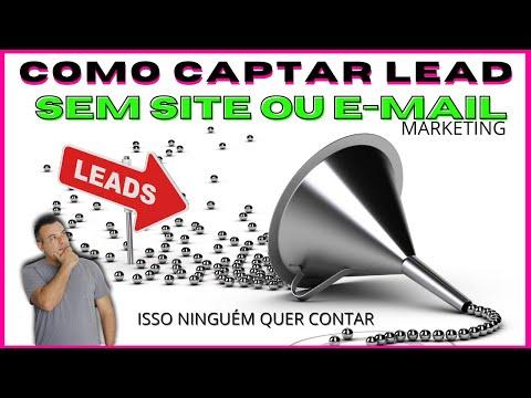Como Captar Leads Sem Site ou Email Marketing Gratuito Aula Completa Messenger   ManyChat [PROVA]
