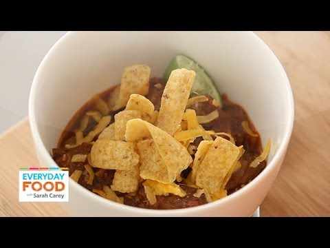 Texas Red Chili – Everyday Food with Sarah Carey