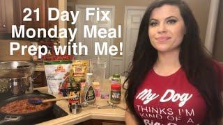 21 Day Fix Shop/Cook/Meal Prep With Me!