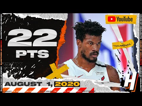 Jimmy Butler 22 Points 7 Ast Full Highlights | Heat vs Nuggets | August 1, 2020