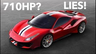 Ferrari Is LYING About The 2019 488 Pista