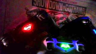 Batman v Superman Light Bar Stickers PS4