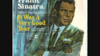 Frank Sinatra - It Was A Very Good Year